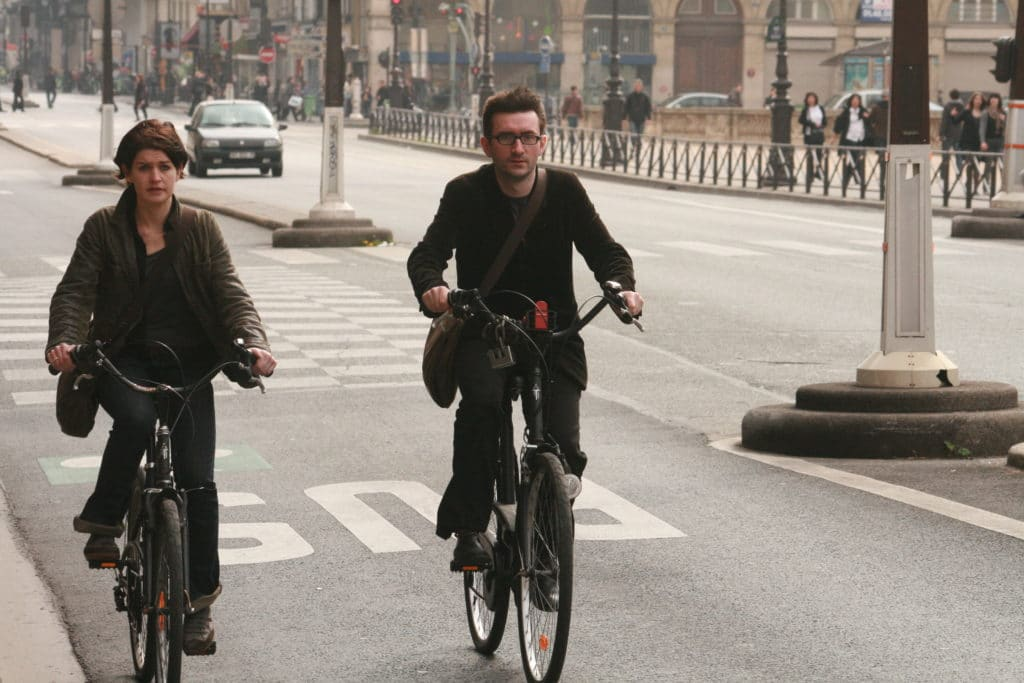 Parisians on Bikes