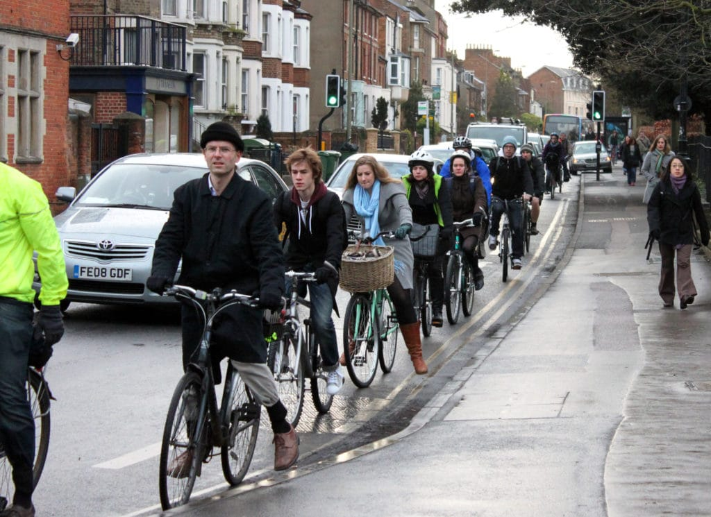 This photo features in best photos of cycling in Oxford