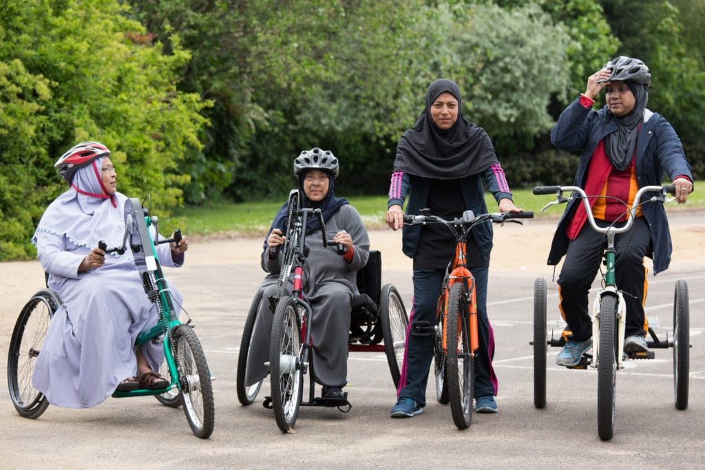 Birmingham Cycle Revolution Wheels for All Well Being Centre, Small Heath