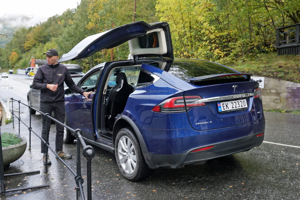 Tesla Model X in Norway